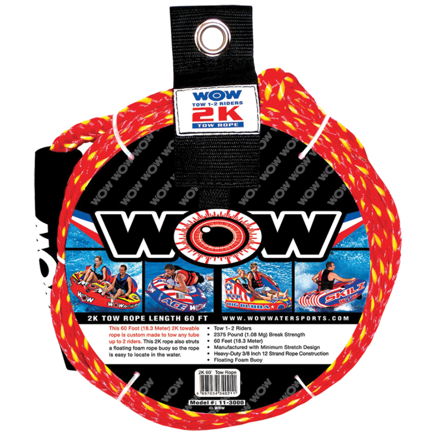 Tow rope, up to 2 person