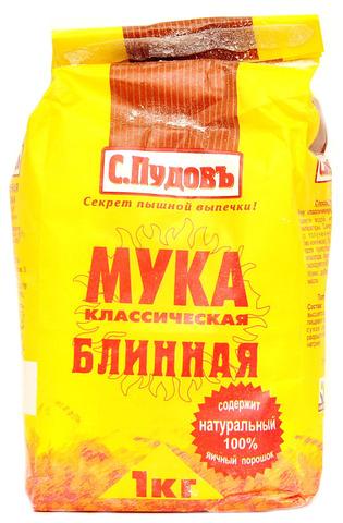Мука блинная (С.Пудовъ) 1 кг.
