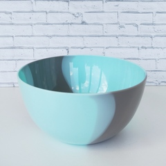 Чашка для слайма голубая мята 700 мл