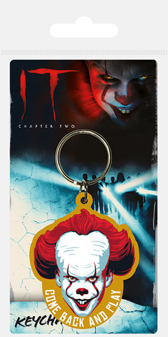 Брелок силиконовый IT Chapter Two (Come Back and Play)