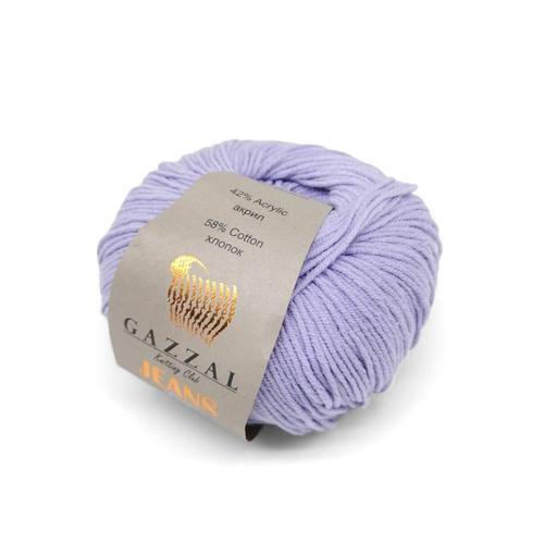 Пряжа Gazzal Jeans 1103 сирень