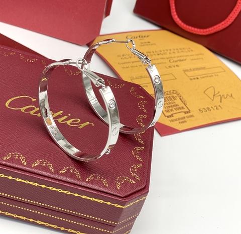 Серьги Cartier Love