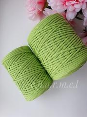 Зелёное яблоко  Хлопковый шнур 4 мм