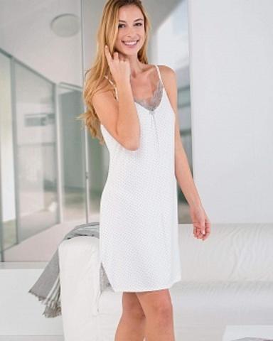 Ночная сорочка женская на тонких бретелях Massana ML_697250