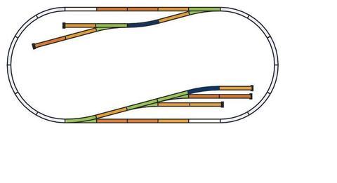 A-Gleis Рельсовый набор: Расширение - D