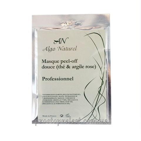 Algo Naturel Masque peel-off douce (teé & argile rose) - Альгінатна маска для чутливої шкіри