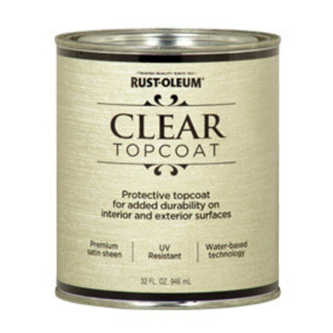 Metallic Accents Clear topcoat защитный акриловый прозрачный лак