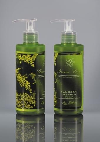 Liv-delano Green Style Гель-пенка ультрамягкая для сухой чувствительной кожи 190г