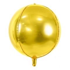К  Мини-сфера 3d, Золото, 11''/28 см 1 шт.