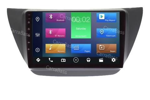 Штатная магнитола для Mitsubishi Lancer IX 2003-2008 Android 10 2/16GB IPS DSP модель HT 7027