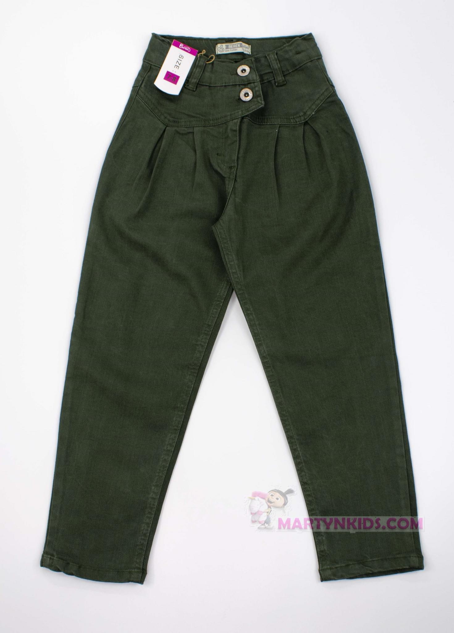 3385  джинсы Пояс хаки