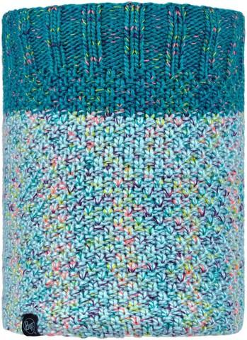 Вязаный шарф-труба с флисом Buff Neckwarmer Knitted Polar Janna Air фото 1