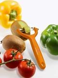 Нож для чистки томатов и киви VICTORINOX оранжевый (7.6079.9)