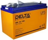 Аккумулятор DELTA HRL 12-100 ( 12V 100Ah / 12В 100Ач ) - фотография