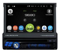 Штатная магнитола 1 DIN на Android 8.0 для Renault Logan I 04-15 Roximo CarDroid RD-1001