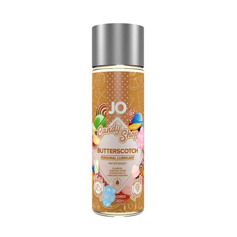 JO H2O Candy Shop Butterscotch, 60 ml Вкусовой лубрикант Ириски на водной основе