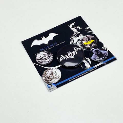 Набор значков Batman (Dark)