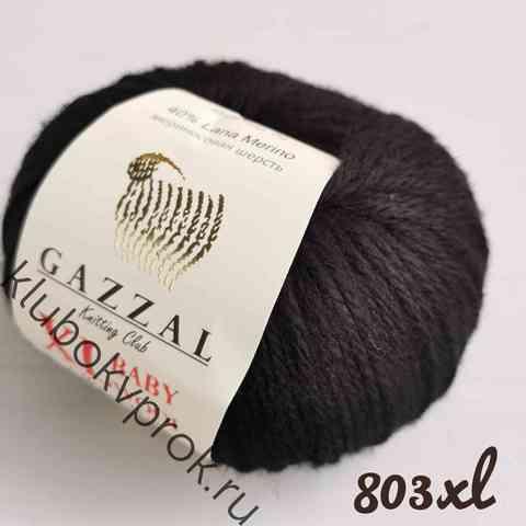 GAZZAL BABY WOOL XL 803, Черный