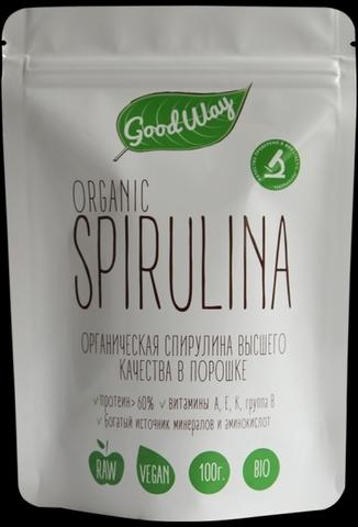 Спирулина порошок пакет, 100 гр. (Белогуб)