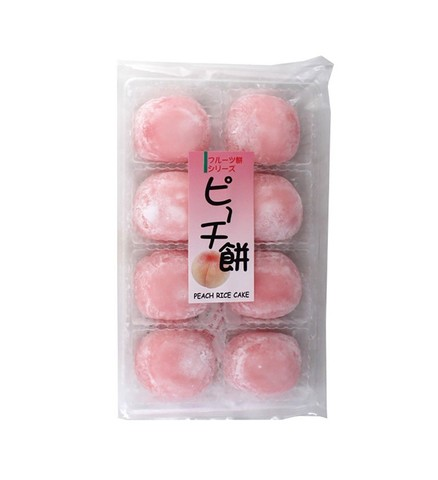 Моти дайфуку Kubota Seika со вкусом персика 8 шт 225 гр