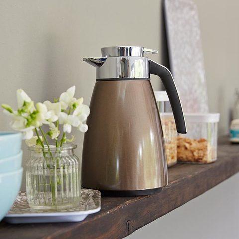 Термос-чайник Emsa Bell (1 литр), шоколадный