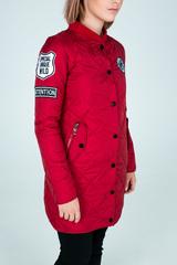 Удлиненная куртка из плащевки Nadya