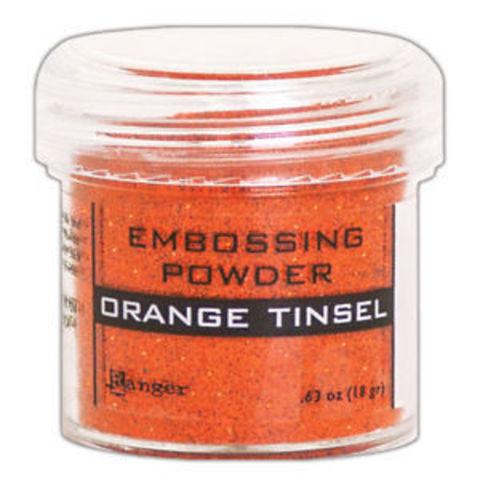 Пудра для эмбоссинга Ranger Ink- ORANGE TINSEL