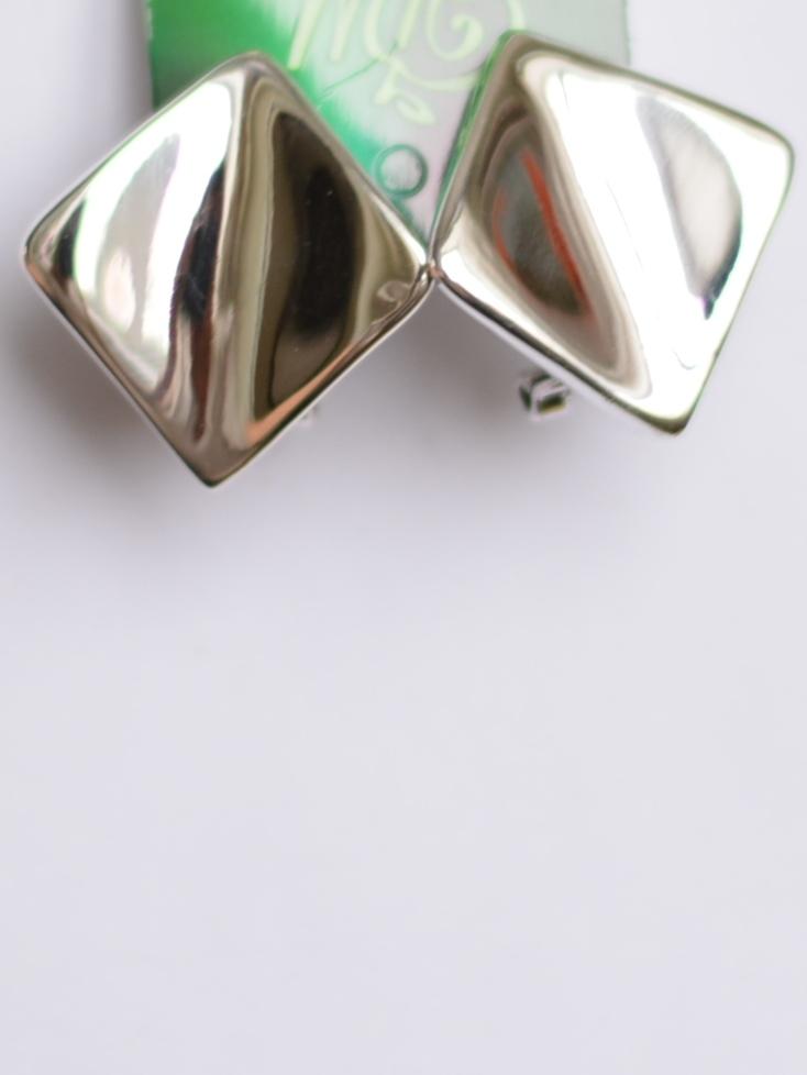 Ромб (серьги из серебра)