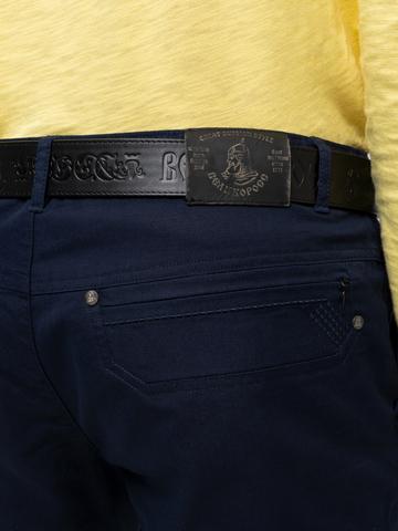 Мужской костюм тёмно-синего цвета
