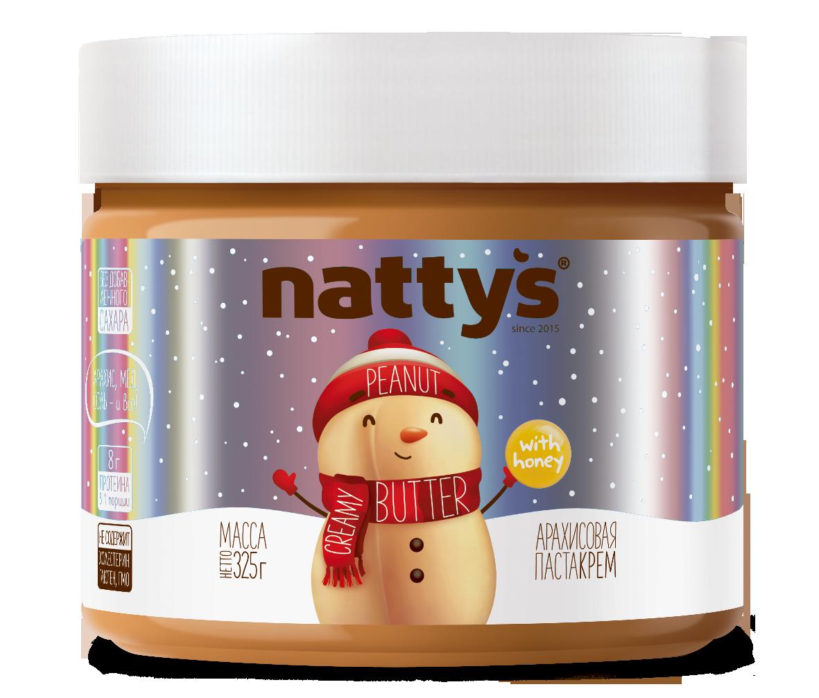 Арахисовая паста-крем NATTY'S 325 г
