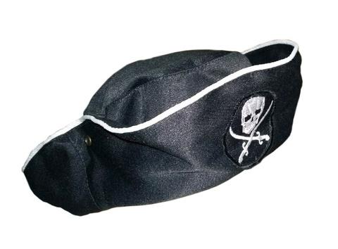 Купить пиратскую треуголку - Магазин тельняшек.ру 8-800-700-93-18Треуголка пиратская в Магазине тельняшек