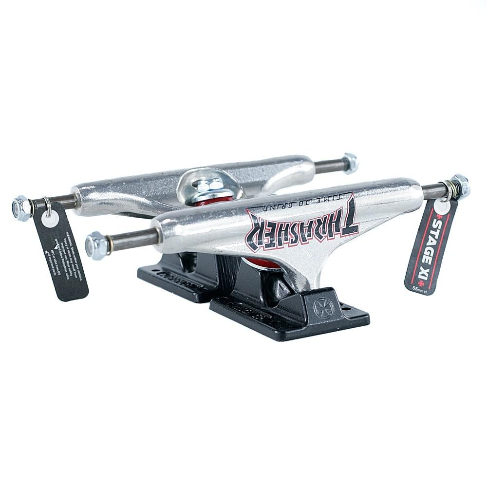 Подвески для скейтборда INDEPENDENT x THRASHER Stage 11 TTG Standard (Silver/Black)