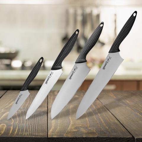 Набор из 4 кухонных ножей