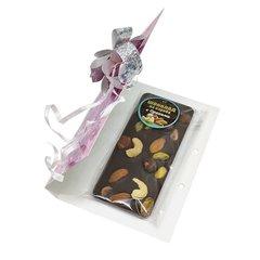 Шоколад из кэроба с орехами, 50 г