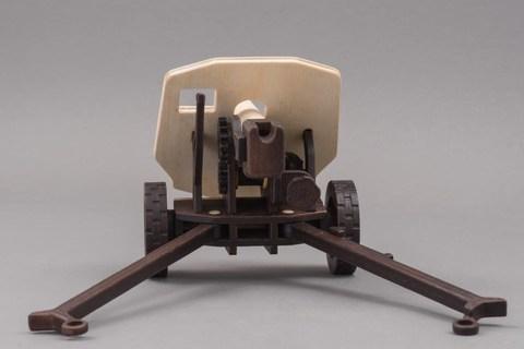 Пушка MIST от TARG - деревянный конструктор, сборная модель, 3d пазл