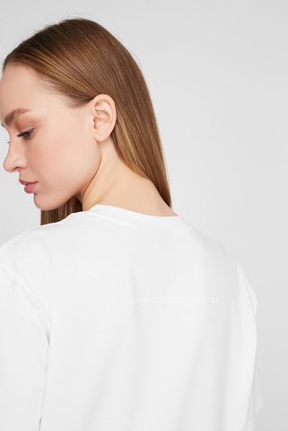 Женское белое платье D-JOLLIE Diesel