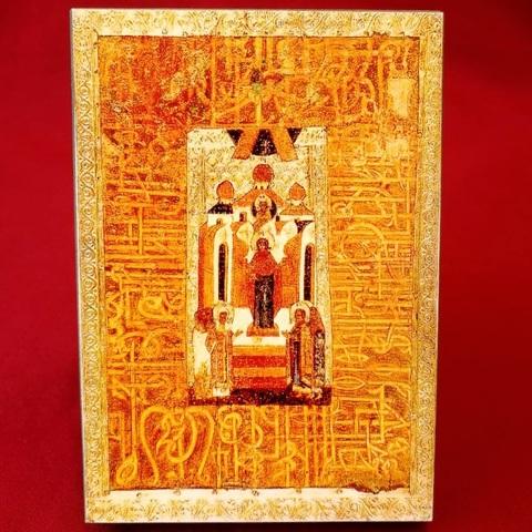 Икона Божией Матери Непроходимая Дверь 16 век на дереве на левкасе  мастерская Иконный Дом