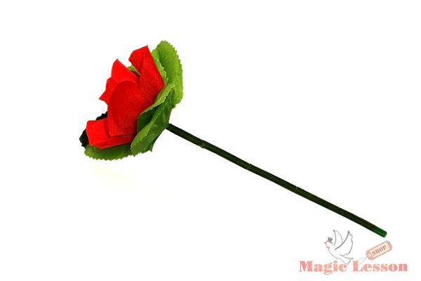 Складная роза для фокусов