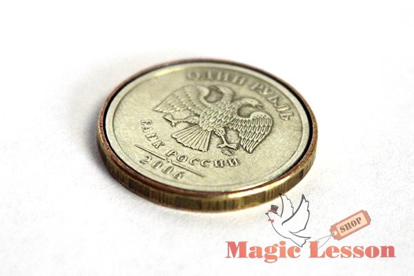 Монета Shell для фокусов