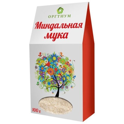 Мука Оргтиум миндальная натуральная, 100 г