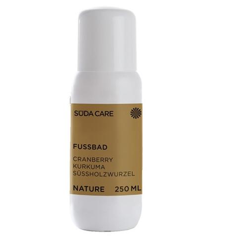 SUDA Органическая линия Nature: Жидкость для ножных ванночек с экстрактом куркумы - концентрат (Fußbad)