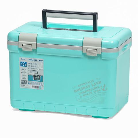 Термобокс SHINWA Holiday Land Cooler 17H синий  /8