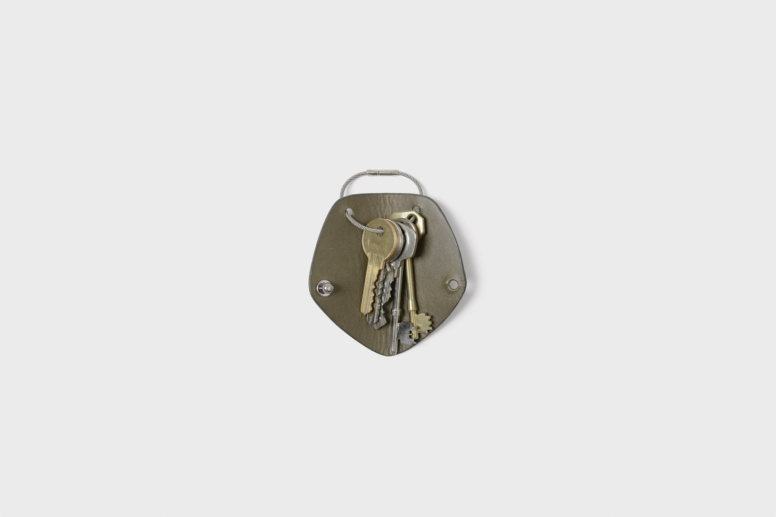 Campbell Cole Simple Key Wrap Khaki