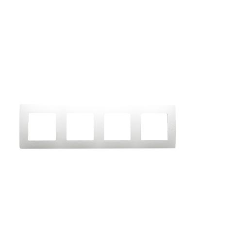 Рамка на 4 поста. Цвет Белый. Legrand Etika (Легранд Этика). 672504