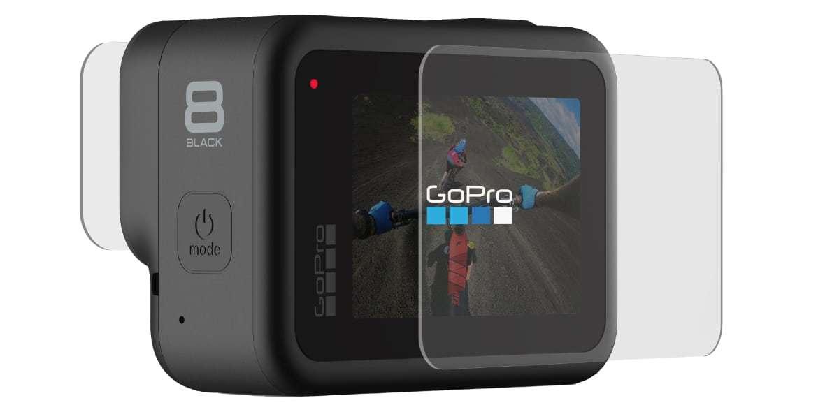 Набор защитных стекол для камеры GoPro HERO8 Black