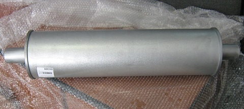 Глушитель индустриальный ES1 для ДГУ Р33-3 с установочным комплектом EM1 / SILENCER ASSY АРТ: 10000-
