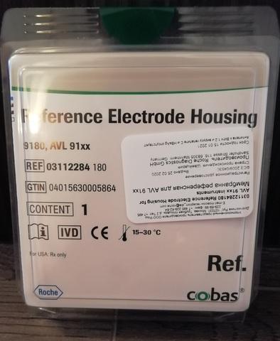 03112284180 Мембрана референсная для AVL 91xx (Reference Electrode Housing for AVL 91xx instruments) Рош Диагностикс ГмбХ, Германия, Roche Diagnostics GmbH, Germany