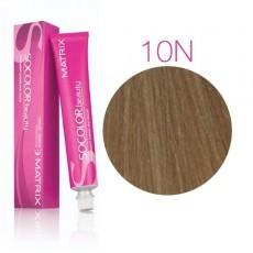 Matrix SOCOLOR.beauty: Neutral 10N очень-очень светлый блондин натуральный, краска стойкая для волос (перманентная), 90мл