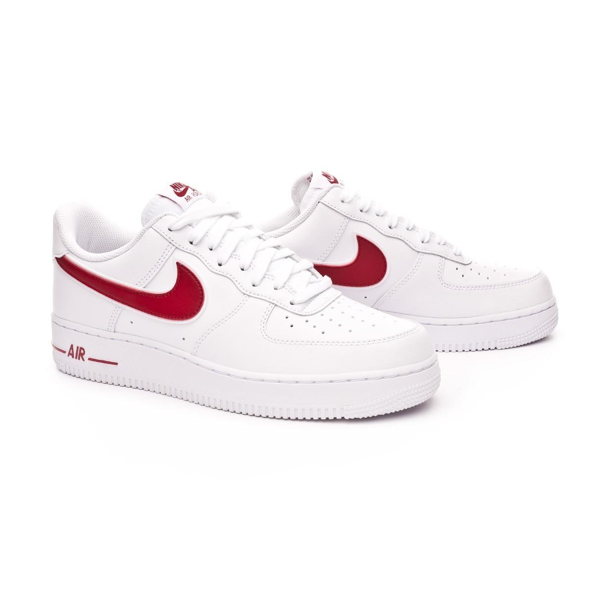 Nike Air Force 1 Red Swoosh