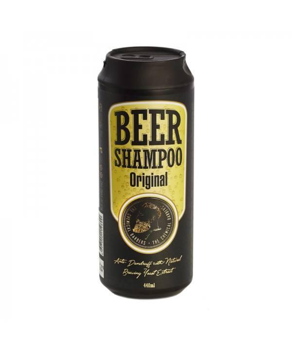 Шампунь CHEMICAL BARBERS Beer Shampoo Original против перхоти 440 мл